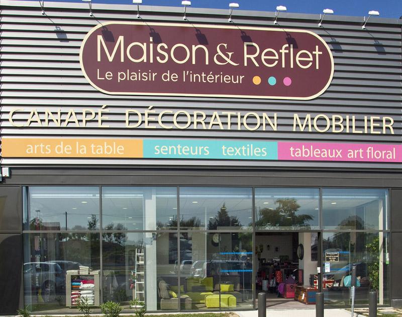 Du nouveau chez maison et reflet les franchises du meuble for Maison et reflet lyon